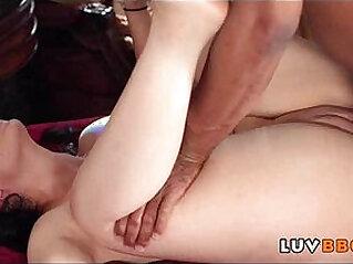Innocent muslim girl takes massive black mamba cock