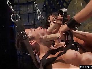 BestGonzo FemDoms Keeani Lei Gianna Lynn Peg Their Sex Slave
