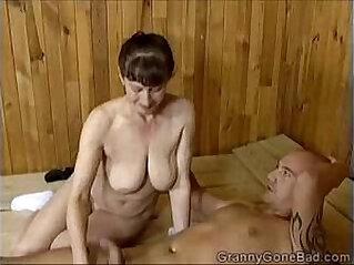 Grannys Naughty Blowjob