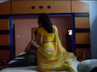 Sexy bhabhi and husband honeymoon at hotel