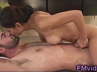 Busty asian hottie Tia Ling nice fuck