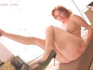 curvy pawg in slutty dress with big ass