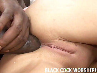 His big black mamba cock is really going to punish my pussy
