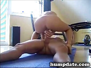 Sexy wife rides a big cock the cowgirl style