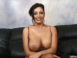 Vannah Sterling creamed after anal and throat fuck