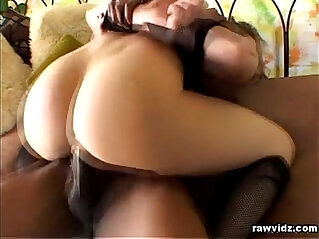 Blonde Whore Fucked Black cock Stud