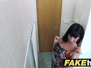 Fake Hospital Toilet room blowjob and fucking with boobs euro patient