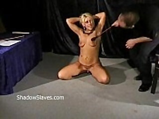 Bizarre caning to tears and hardcore spanking of crying Crystel Lei in harsh dom