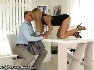 Czech Boss gets Creampies from Employee