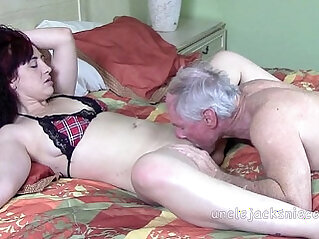 Playtime for the Lady busy with mature Lady Italy and Jack Moore as Uncle Jack