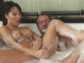 Soapy plays with gorgeous Asa Akira