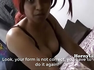 Horny Lily Mom Son Special Training Classes in Hindi English