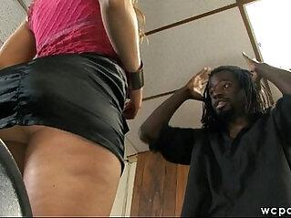 Black mamba Cock White Ass Fantasy