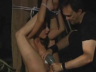 Brunette slave is under Masters disposal