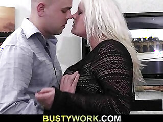 Hot plumper getting fucked