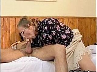 Nasty wild mature woman getting