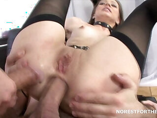 Aspen discovering double anal