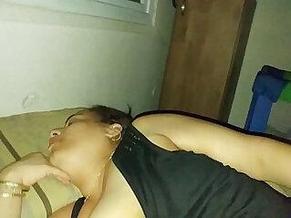Sleeping Israeli Wife with big Boobs