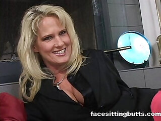 Horny cougar talks her stepson into a hardcore gangbang fuck