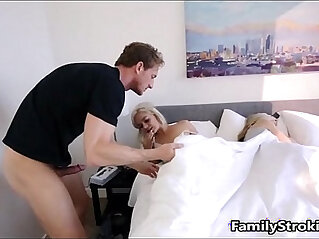 Step Dad Wakes Up Teen step Daughter See Full Video