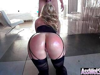 Big Ass Wet Oiled big ass Girl AJ Applegate Get Nailed Deep In Her Behind clip