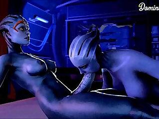 Mass Effect Samara Full Compilation GIF