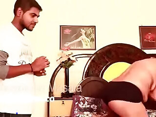 Hot bhabhi massage and romace with brother in law hot boobs show nip almost out hot new