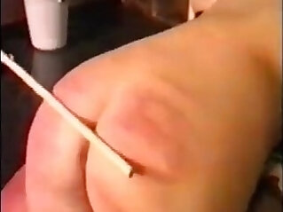girl get hard caning at bdsm niche