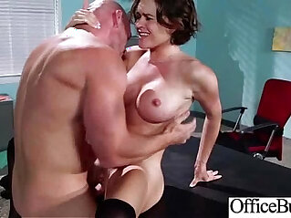 Naughty Girl krissy lynn With Big Round Tits Office Get Sex movie
