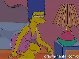 Lesbian Hentai Lois Griffin and Marge Simpson
