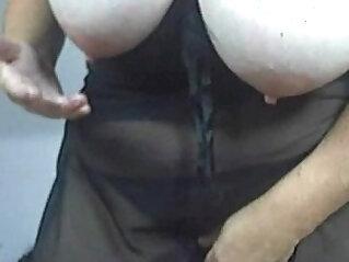 Busty mature strips on webcam