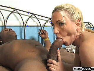 Mom Cala Craves fucks pussy with a BBC in front of her son