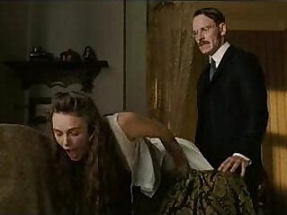 Keira Knightley Showing Tits Getting Spanked