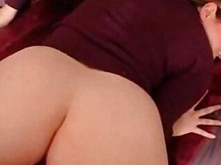 Amateur big butt anal creampie