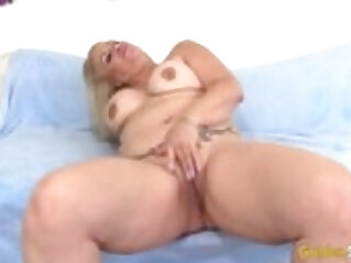 BTS with Granny sucking and fucking