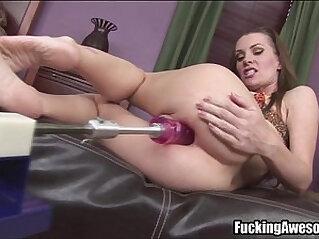 Brandi Edwards Gets Assfucked By A Machine