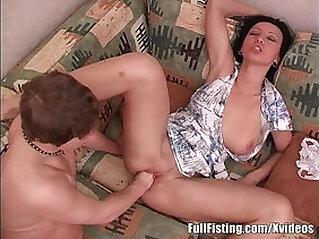 Teen Brunette Pussy Fisting Addict at european niche